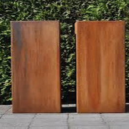 mur en acier corten mur d coratif de jardin et ext rieur. Black Bedroom Furniture Sets. Home Design Ideas